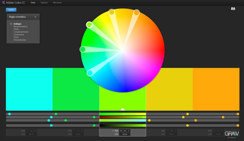 3 herramientas online para generar paleta cromática