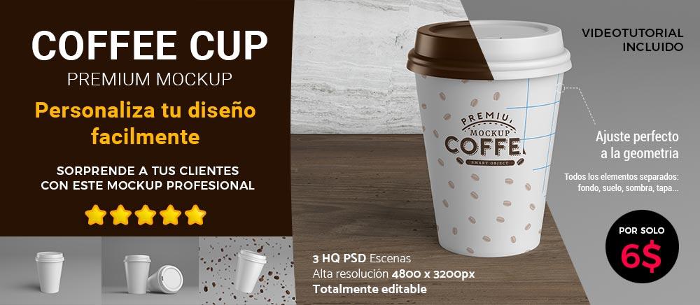 anuncio mockup coffee cup