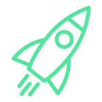 icono cohete despegar