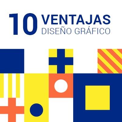 portada 10 ventajas diseño gráfico