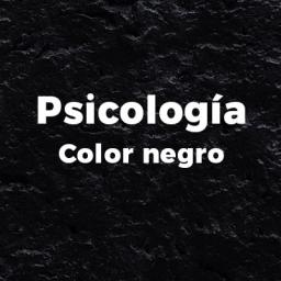 portada psicología color negro