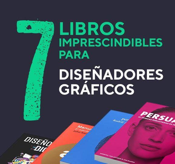portada 7 libros imprescindibles para diseñadores gráficos