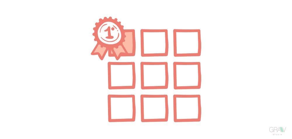 ilustracion portfolio grid diseño